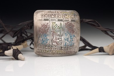 Mayan Codex Bead