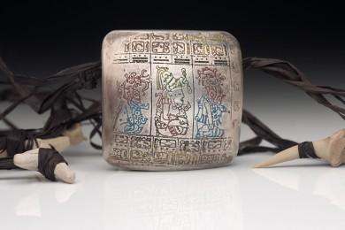 Mayan Codex Bead