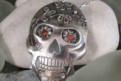 Michele-Solak—Silver-Sugar-Skull272dpi