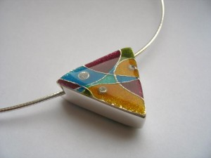 Polygon Pendant by Henriette van Battum